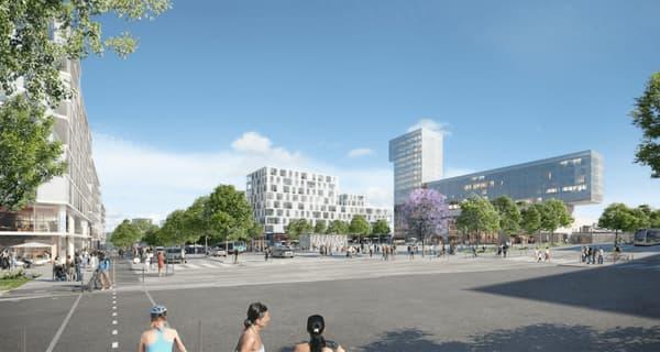La gare des Ardoines constitue un véritable atout pour ce futur pôle économique et urbain.