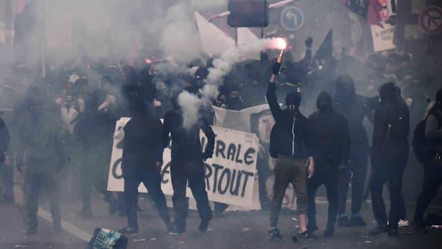 Violences lors des manifestations du 1er mai.