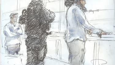 Abdelkader Merah lors du dernier jour de son procès le 2 novembre 2017