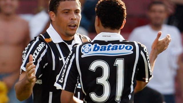 Ronaldo ici sous les couleurs des Corinthians