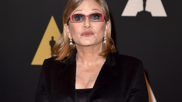 Carrie Fisher en novembre 2015.