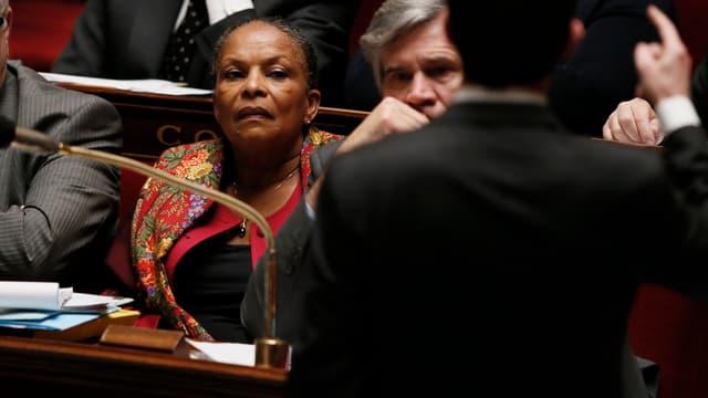 La ministre de la Justice n'a pas répondu aux questions devant l'Assemble