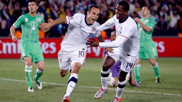 Landon Donovan a puni les Algériens dans les arrêts de jeu