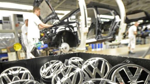 La marque Volkswagen va devoir réduire ses coûts pour atteindre ses objectifs de marge.