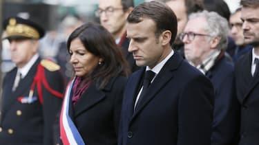Emmanuel Macron avait déjà participé aux commémorations du 13 novembre