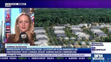 What's up New York : Impression 3D/Construction, la start-up Icon annonce un partenariat avec Lennar, géant américain de l'immobilier - 26/10