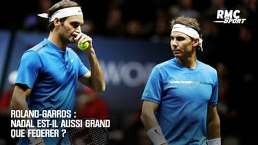 Roland-Garros : Nadal est-il aussi grand que Federer ?