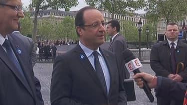 Le chef de l'Etat est revenu sur les relations franco-allemandes et le sujet de la croissance économique.