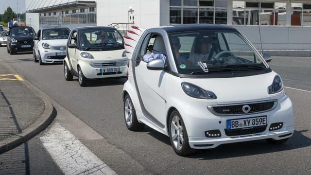 Daimler, propriétaire des marques Mercedes et Smart, veut vendre son usine Smart d'Hambach en Moselle
