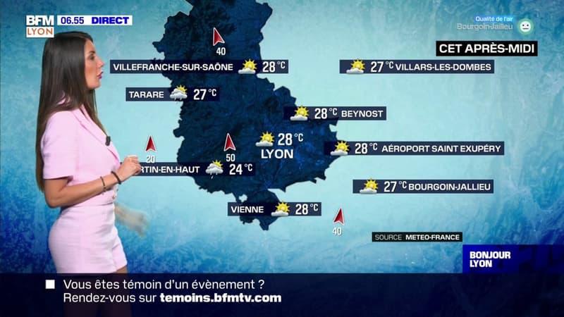 Météo à Lyon: un grand soleil et quelques nuages, jusqu'à 28°C l'après-midi