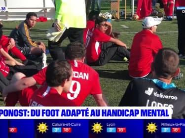 Chaponost: du foot adapté au handicap mental