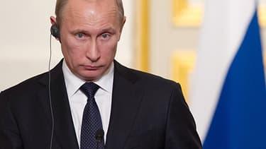 Vladimir Poutine, président actuel de la Russie.