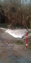 Tempête Gloria : routes inondées à Saint-André, dans les Pyrénées-Orientales - Témoins BFMTV