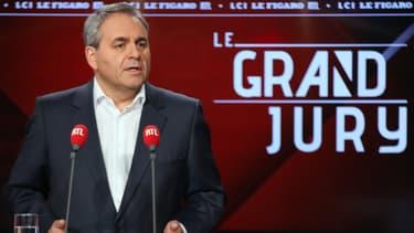 Xavier Bertrand, dimanche 10 novembre 2019, invité de RTL à Neuilly-sur-Seine.