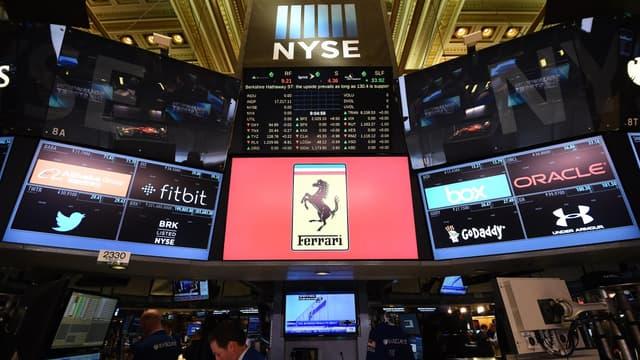 Ferrari a chuté en Bourse.