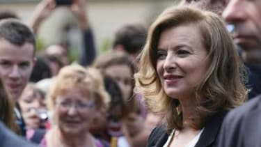 Valérie Trierweiler était l'invitée d'Alessandra Sublet.