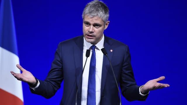 Laurent Wauquiez au Conseil national des Républicains.