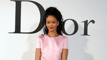 Rihanna lors du défilé Dior à New York en mai 2014