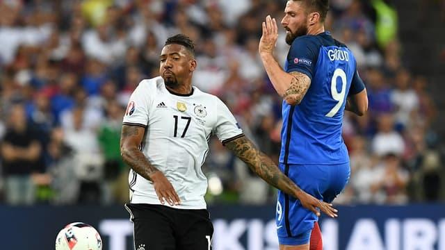 Boateng et Giroud à l'Euro 2016
