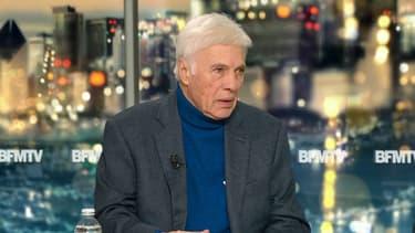 Guy Bedos sur le plateau de BFMTV