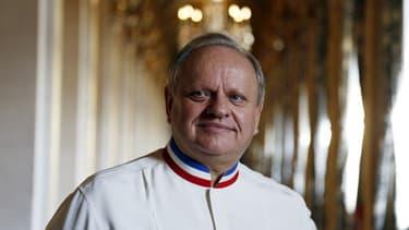 Le chef Joël Robuchon comptait le plus d'étoiles Michelin au monde.