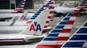 Des milliers de vols d'American Airlines sans pilotes en décembre.