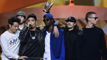 Le groupe 1995 remporte un prix aux Victoires de la Musique dans la catégorie Musique urbaine en 2014