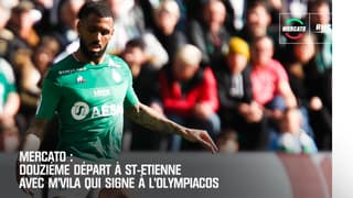 Mercato : Saint-Etienne poursuit son dégraissage avec M'Vila à l'Olympiacos