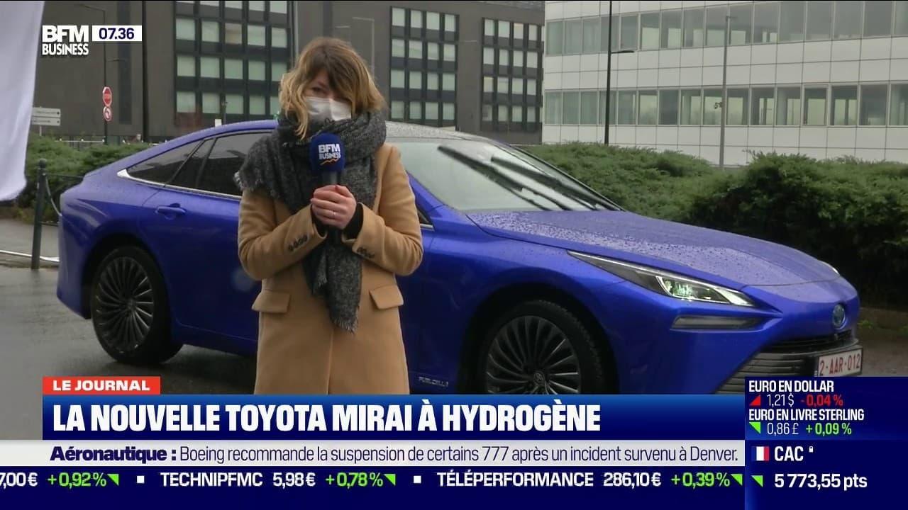 Toyota sort une nouvelle voiture à hydrogène