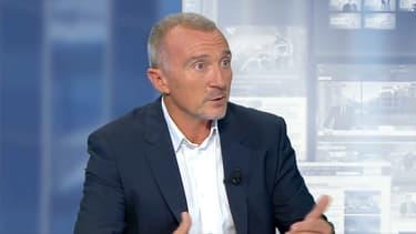 Me Laurent-Franck Liénard, l'avocat d'Alexandre Benalla, mardi 24 juillet sur BFMTV