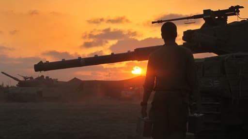 """Un sondage publié le 6 août 2014 souligne la popularuté de l'opération """"Bordure protectrice"""" auprès des Israéliens."""