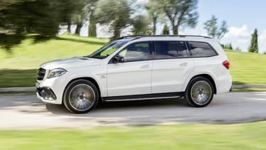 Les SUV, comme ce Mercedes-AMG GLS 63, ont une place prépondérante chez Mercedes-Benz, représentant entre 30 et 40 % du catalogue de la marque selon Ola Källenius. Et cette part pourrait encore augmenter dans le futur.