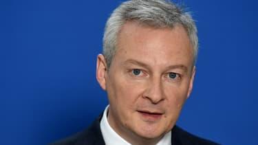 """En cas d'échec des négociations européennes en cours sur un projet de taxe sur les Gafa, """"nous le ferons au niveau national"""", a promis le ministre Bruno Le Maire."""
