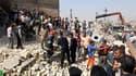 Le bilan des explosions survenues mardi à Bagdad s'élève à 28 morts et une soixantaine de blessés./Photo prise le 6 avril 2010/REUTERS/Mohammed Ameen