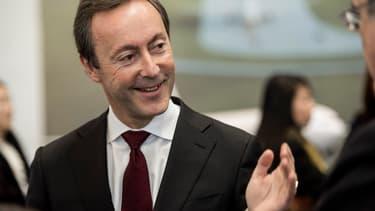 Fabrice Brégier, le directeur général délégué d'Airbus.
