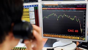 Le CAC 40, comme les autres indices européens, a clôturé en forte baisse mercredi 20 janvier.