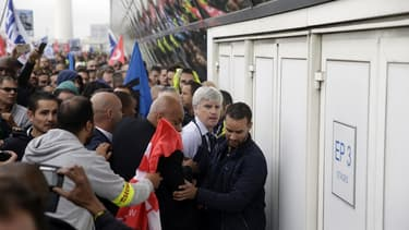 En octobre, plusieurs membres de la direction avaient été bousculés par des salariés d'Air France.