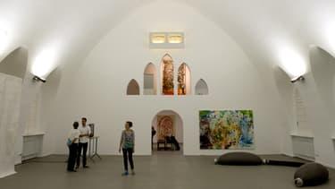 Une galerie d'art instalée dans un ancien crématorium