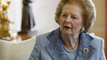L'ancienne Première ministre britannique Margaret Thatcher, en décembre 2012