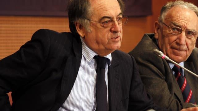 Noël Le Graët est le nouveau président de la FFF