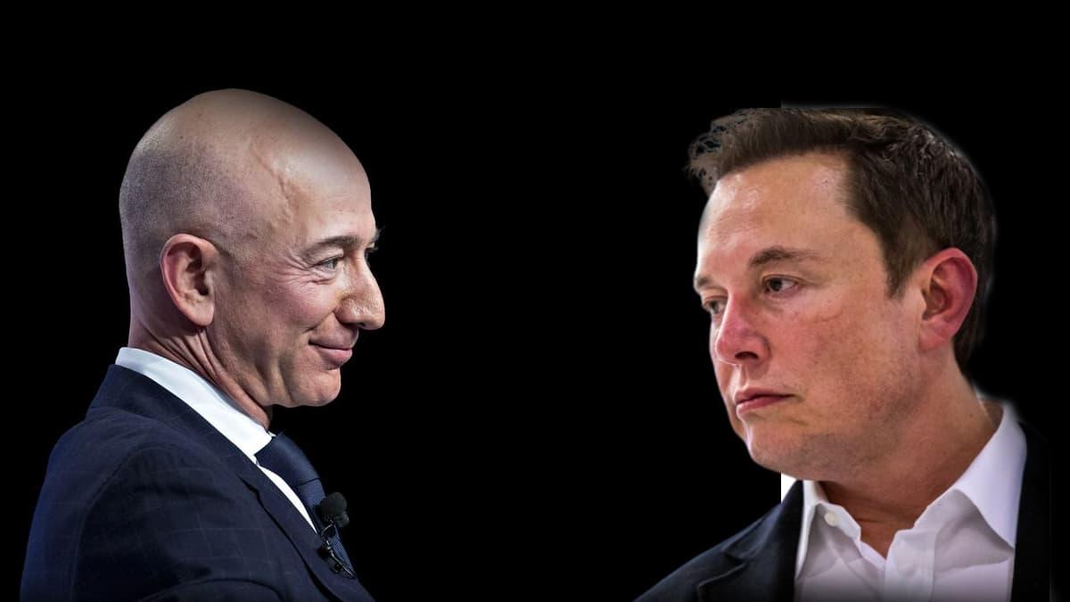 Jeff Bezos dépasse Elon Musk et redevient l'homme le plus riche du monde - BFMTV