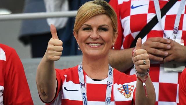 La présidente de la Croatie, Kolinda Grabar-Kitarovic