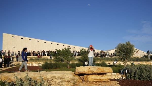 Photo du musée palestinien, prise à Bir Zeit le 18 mai 2016.