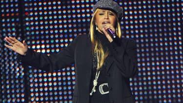 La chanteuse Laam en janvier 2010 à Paris