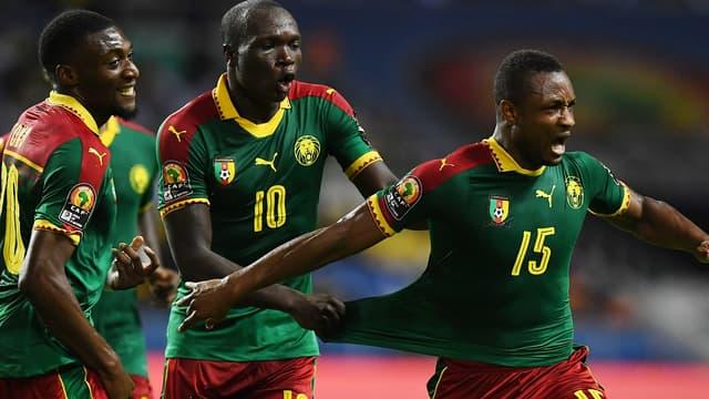 La joie des Camerounais