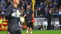 Gianluigi Donnarumma à l'échauffement avant Bruges-PSG