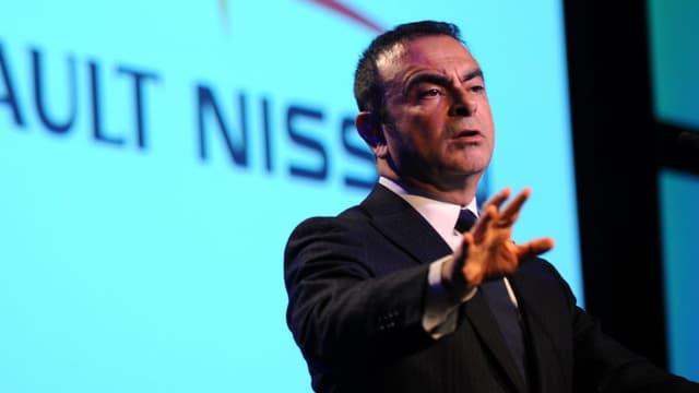 Carlos Ghosn, en 2012, à Détroit (Etats-Unis). Le dirigeant de Renault a été arrêté ce lundi, au Japon, soupçonné de malversations financières.