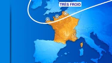 Météo France annonce le retour de la neige et du froid dès lundi sur la France.