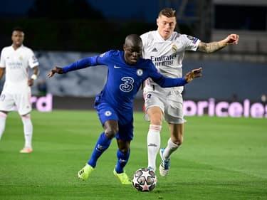 N'Golo Kanté lors de Chelsea-Real