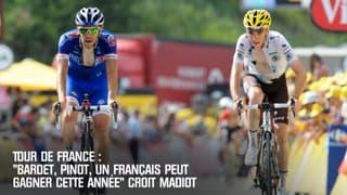 """Tour de France: """"Pinot, Bardet... un Français peut gagner cette année"""" croit Madiot"""